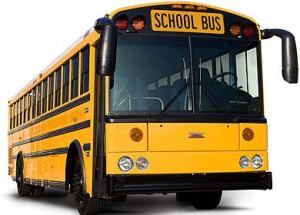 Look!  Its a school bus!  I'll bet there are illegal immigrants in there!