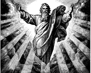 I'm omnipotent but I'm still wearing a toga.  Can anyone explain that to me?  What I wouldn't give for some comfortable jeans.