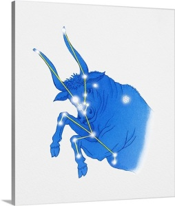 illustration-of-taurus-star-constellation-also-represented-rearing-bull,1044363