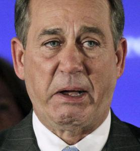 He must be really happy he doesn't work with John Boehner.  That dude would be so distracting.