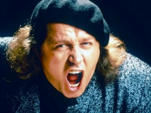 I've been looking for a word that will explain the appeal of Sam Kinison but I haven't found it yet.