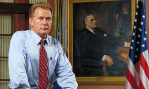 """Oh who am I kidding?  He'd probably say Bartlet was """"secretly a Republican."""""""