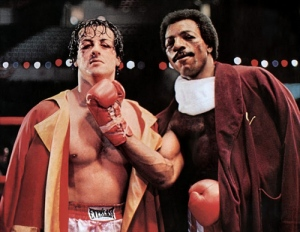 Did Apollo Creed deserve to be beaten up by Rocky? Or Rocky by Apollo? If only they had just talked it out.