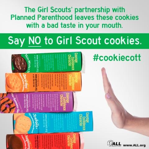 GirlScout_SayNo