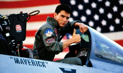 "By ""go Maverick,"" I mean ""engage in strangely homoerotic banter with other pilots."""