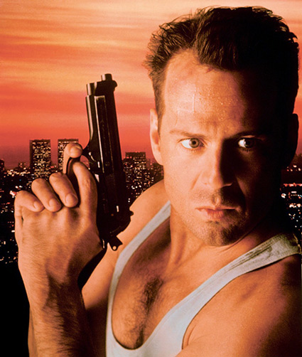 "A white male lead in a ""Die Hard"" film? BRILLIANT!"