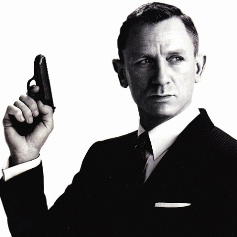 A white male lead in a Bond film? How original!