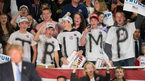 Remember when Trump supporters seemed like a Fringe group?