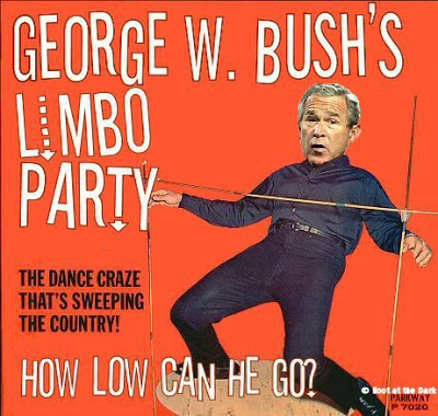 "No joke - I Googled ""George Bush Limbo"" and I found this!"