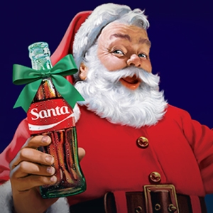Talk about obnoxious - Santa has been doing Coke for a lot longer.