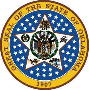 "I checked the great seal for the state of Oklahoma and it doesn't say ""fuck women"" anywhere.  Not even in Latin."